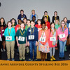 Spelling Bee Students Group Photo