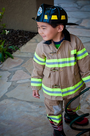 Spencer-Fire Fighter-Costume