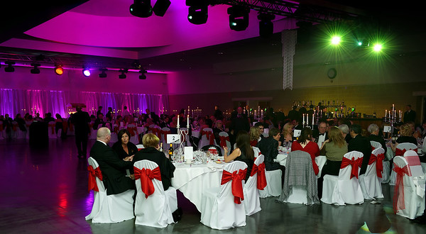 The Spencer Red Velvet Ball at the Peterborough Arena