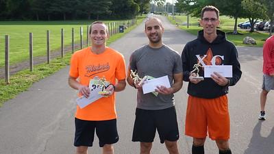 Top 3 winners, men