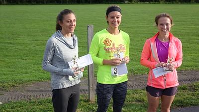 Top 3 winners, women