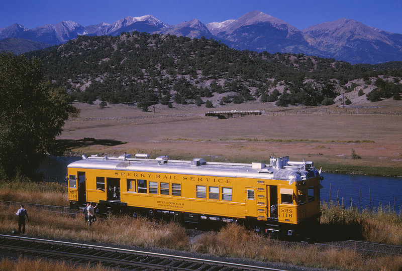 Sperry Rail Service 10 - Sep 24 1964 - Car 118 COLO