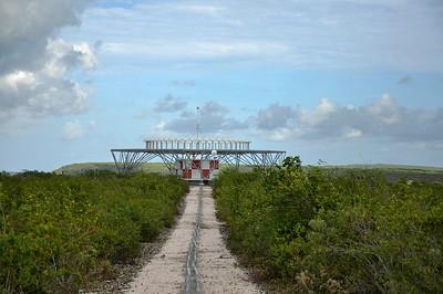 a UFO landing platform
