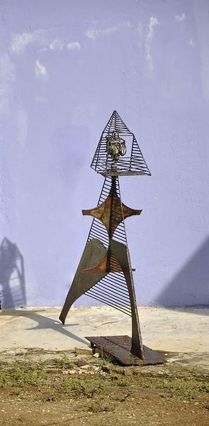 Kunstenaar Philippe Zanolino