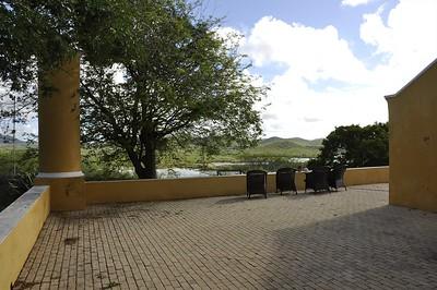 Beautiful vistas from the verandah, bellow the zoutpannen
