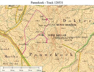 Werbata map of 1909