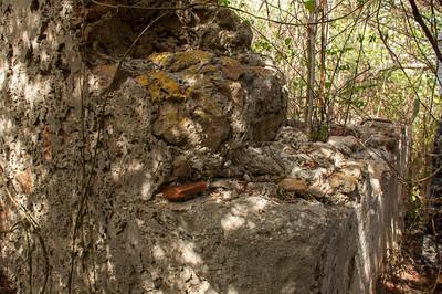 Outside corner wall