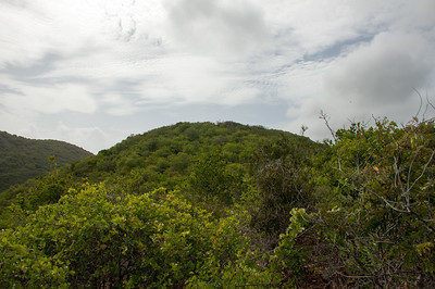 That is the summit before the summit of Seru Kortapé
