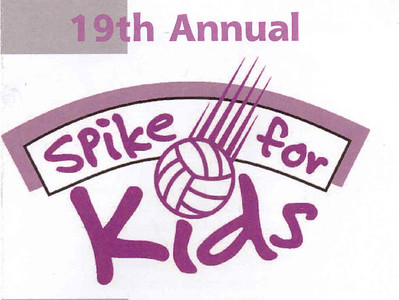 19th Annual Spike for kids flyer-