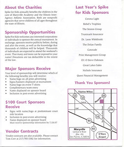 19th Annual Spike for kids flyer2
