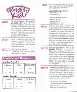 19th Annual Spike for kids flyer3