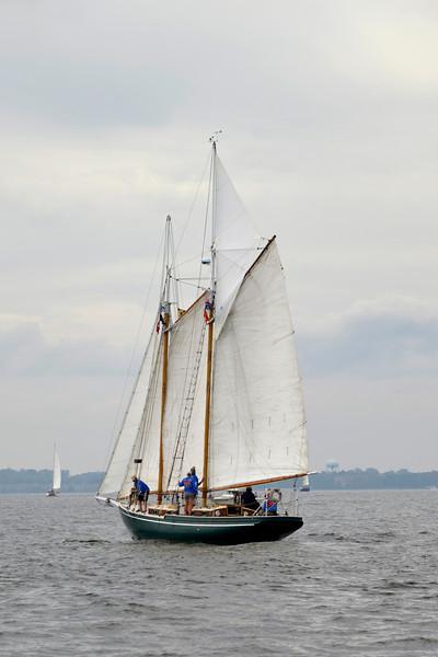Great Chesapeake Bay Schooner Race Start