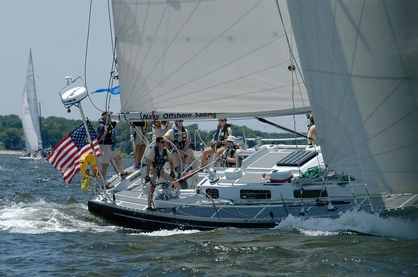 Annapolis to Bermuda Race Start