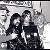 Documentary Filmmaker Marty DiBergi With Spinal Tap at Press Conference, Plaza Hotel, NYC, 2/1/1984