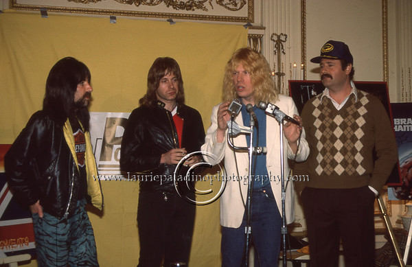 Spinal Tap Press Conference Plaza Hotel  New York City/1984