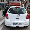 Micra, our rental car on Crete.