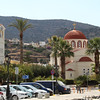 Church and tower in Elounda.