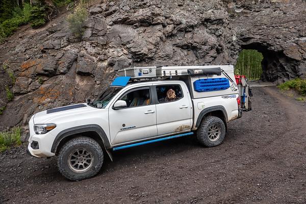 Tacoma. Imogene Pass, Ouray to Telluride, Colorado USA