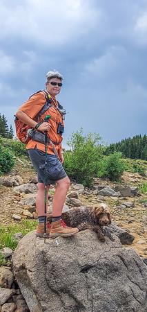 Blue Lake, Dixie National Forest, Garfield County, Utah USA