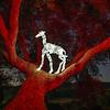 Giraffe in Oak