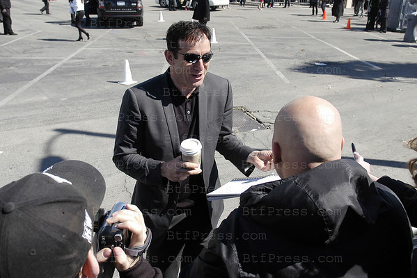 Actor jason Isaacs arrives at the 2011 Film Independent Spirit Awards in Santa Monica,California on February 26,2011