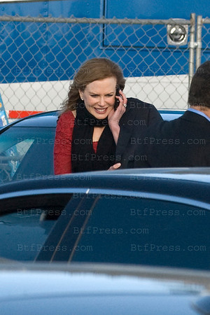 Actress Nicole Kidman arrives at the 2011 Film Independent Spirit Awards in Santa Monica,California on February 26,2011
