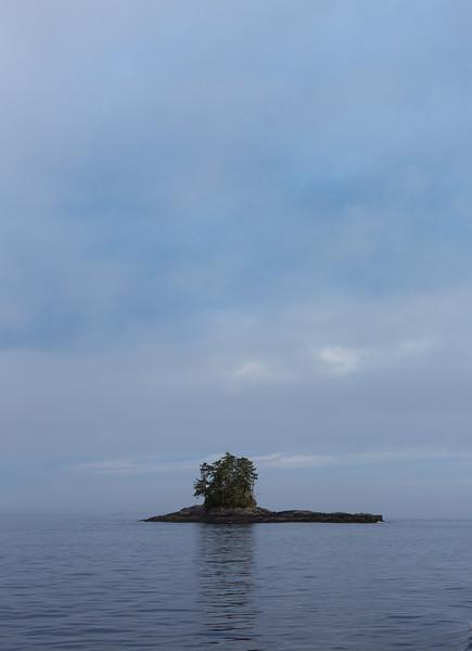 A tiny island near Bella Bella