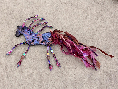 Spirit Horses: Handmade Art