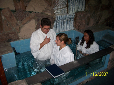 Baptism Nov. 2007