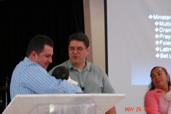May 24, 2009 Baby Presentation