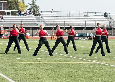 Dance at MidAmerica Nazarene FB Game