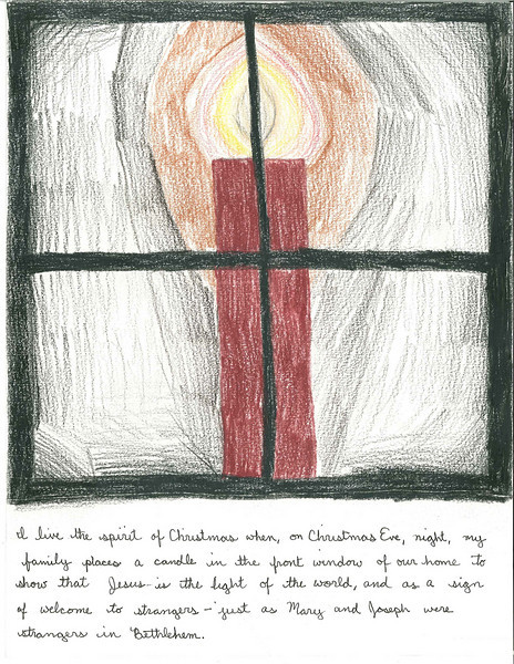 Honorable mention — grades 4-6<br /> Keara Anne Mannion Mickelson<br /> Grade 5<br /> Lake Country Montessori School, Minneapolis<br /> St. Mary of the Lake parish, White Bear Lake