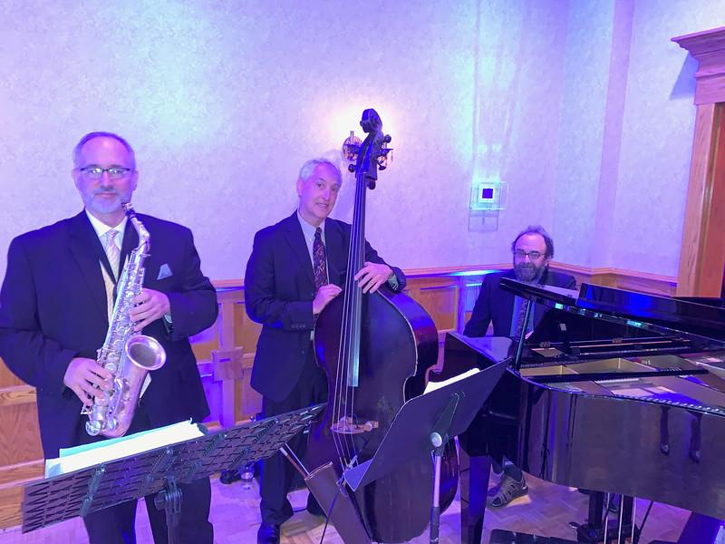 The Artie Bakopoulus Trio provided the entertainment