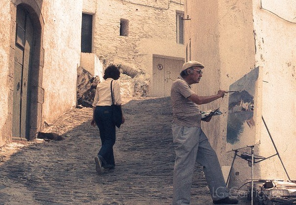 Cadaques 1976 (photo by George Garrigues)