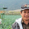 Elogio Donato Solanos, United Farmworkers organizer and coordinator of the Binational Front of Indigenous Organizations in Greenfield, California, recently helped unionize farmworkers on a farm in Chular, California.