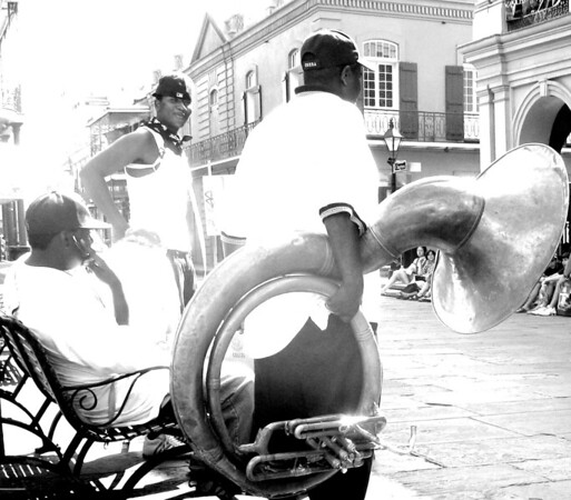 Buskers, New Orleans