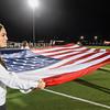 M-A Varsity Girl's Soccer at Football Opening Ceremony vs. Aragon High