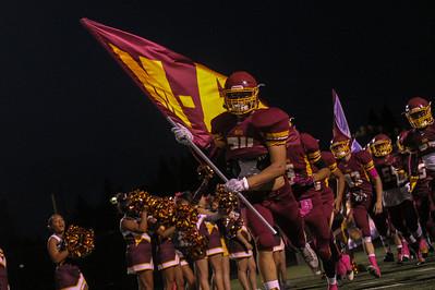 Menlo-Atherton High School Spirit vs.Aragon High School 2015-09-25