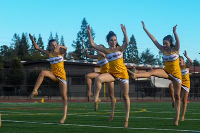 Menlo Atherton High School Spirit vs. Monterey High School 2015-09-25