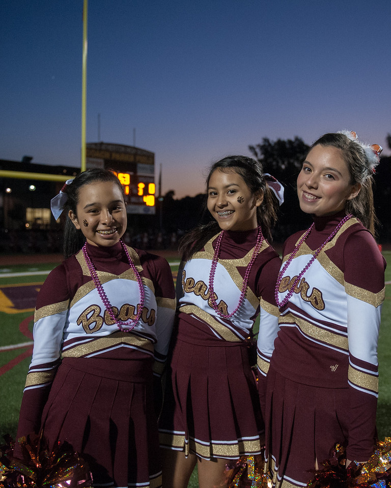 Menlo Atherton Spirt at the M-A Varsity Football vs. Sacred Heart Prep,2013-10-18