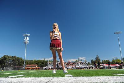 Menlo-Atherton Varsity  Football vs. Silver Creek High School, 2013-09-28