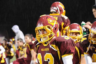 Menlo Atherton High School Varsity Football vs.Santa Clara 2011-11-18