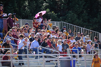 Menlo Atherton High  Bears Varsity Football vs. Sacred Heart Gators, 2012-10-27Cheer,