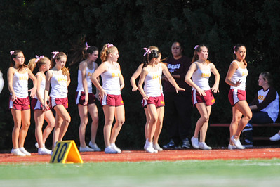 Menlo Atherton High  Bears Varsity Football vs. Sacred Heart Gators, 2012-10-27