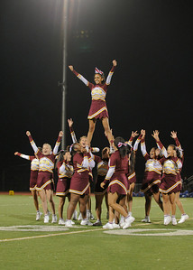 Menlo Atherton High School Cheer & Spirit Squad, 2011-09-16