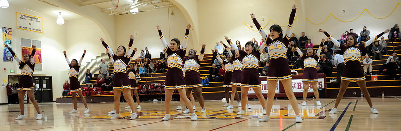 Menlo Atherton Cheer at Menlo Atherton 2011-02-04