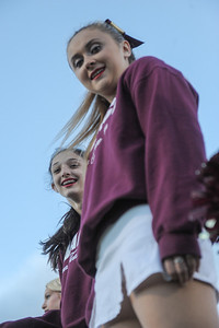 Menlo-Atherton Cheer before M-A playing St. Ignatius College Preparatory. 2013-09-20