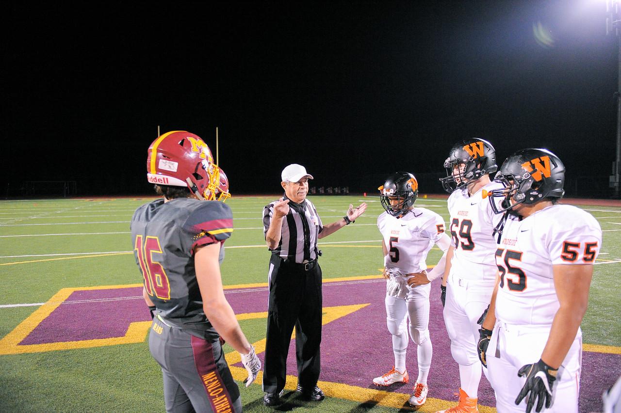 Menlo-Atherton Spirt vs. Woodside High, November 4,  2016