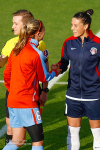 Morgan Brian and Ali Krieger - Player Introductions (14 May 2016)