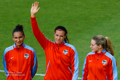 Poliana, Lydia Williams and Kealia Ohai - Player Introductions (14 May 2016)
